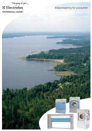 Miljøerklæring for produkter - Electrolux Laundry Systems