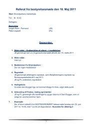 Referat fra afdelingsbestyrelsesmøde maj 2011