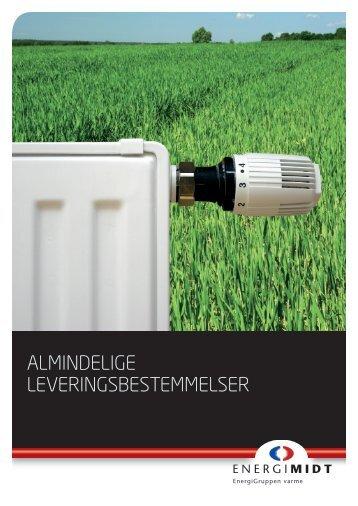 Almindelige leveringsbestemmelser - EnergiMidt