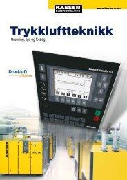 Trykkluftteknikk - KAESER Kompressorer