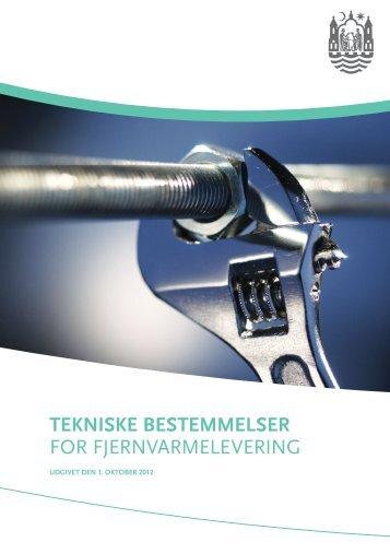 Tekniske bestemmelser for fjernvarmelevering 2012 (pdf ... - Aarhus.dk