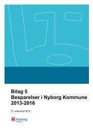 Sparekatalog 2013 (pdf åbner i nyt vindue) - Nyborg Kommune