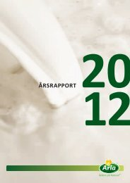 Download årsrapport 2012 her... - Arla.com