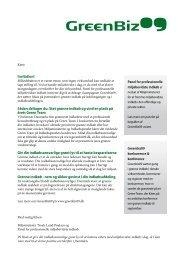 brev til offentlige ledere