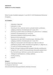 Læs referatet i PDF her - Politi