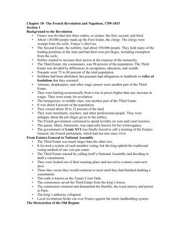 european history chapter 26 notes Palmer study guides they are abridged versions of palmer and colton's a history of the modern world they were abridged napoleonic europe chapter 11.
