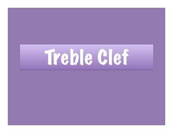 Treble Clef - my CCSD