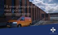 Få energibesparelser med garanti