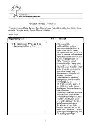Referat af TR-møde 11. januar
