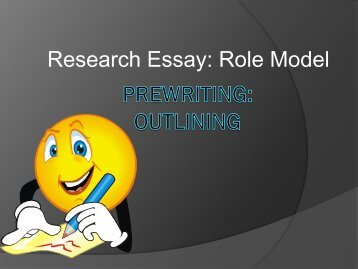 Prewriting: Outlining - my CCSD