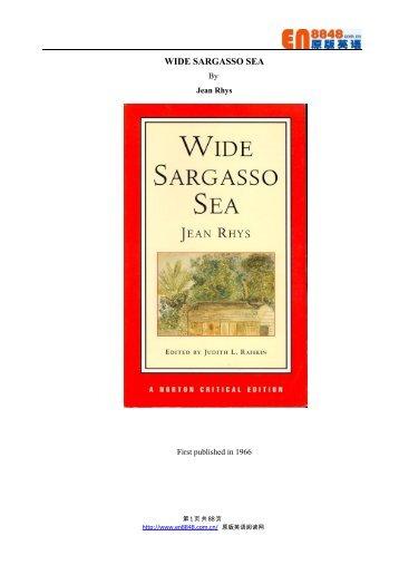 Sea wide ebook sargasso download