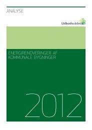Energirenoveringer af kommunale bygninger - Rådet for Offentlig ...