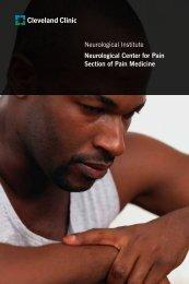 Neurological Institute Neurological Center for ... - Cleveland Clinic