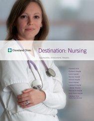 Destination: Nursing - Cleveland Clinic