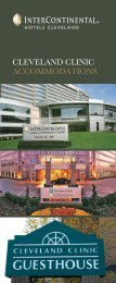 InterContinental Hotels Cleveland - Cleveland Clinic
