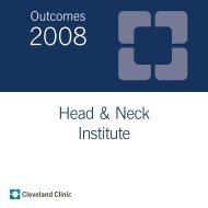 Head & Neck Institute - Cleveland Clinic