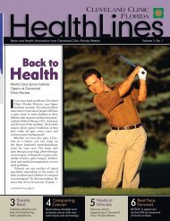 HealthLines - Cleveland Clinic