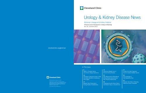 Urology & Kidney Disease News - Cleveland Clinic
