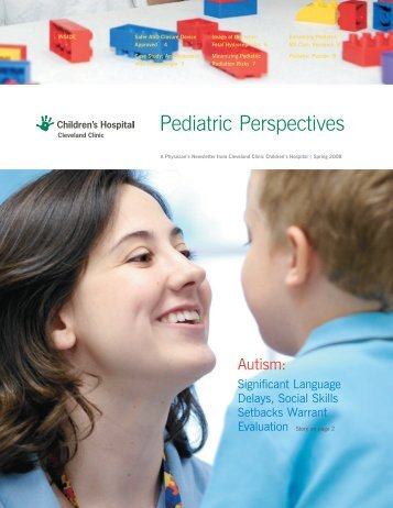 Pediatric Perspectives - Cleveland Clinic