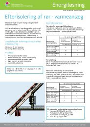 Efterisolering af rør - varmeanlæg pdf - Videncenter for ...