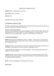 Referat fra SU-møde d 5/2-09 - Aalborg for Døve