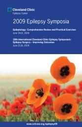 2009 Epilepsy Symposia - Cleveland Clinic