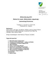 Referat fra møde i valgudvalget torsdag d. 2. maj 2013
