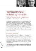 Værdisætning af miljøet og naturen - Page 2