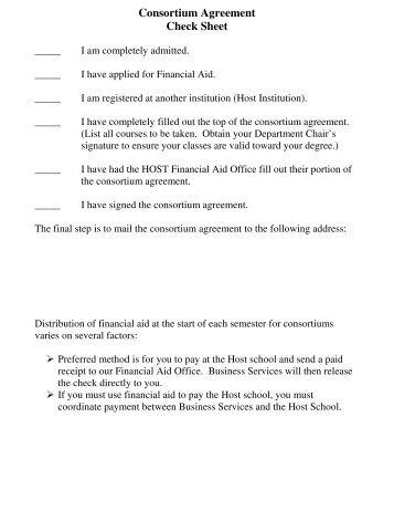 Tennessee consortium agreement the university of montana western platinumwayz