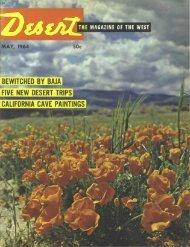 May - Desert Magazine of the Southwest