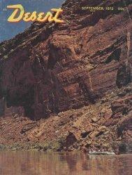 SEPTEMBER, 1972 - Desert Magazine of the Southwest