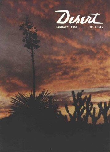 Blanche bradbury - Desert Magazine of the Southwest