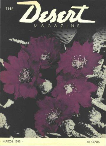 194503-DesertMagazin.. - Desert Magazine of the Southwest