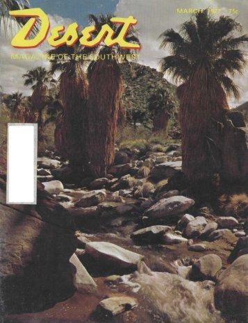 fishi fish! - Desert Magazine of the Southwest