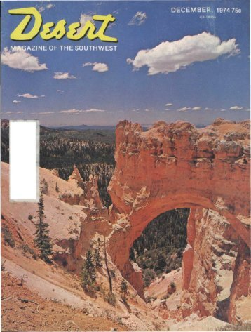 AZINEOFTHESOU - Desert Magazine of the Southwest