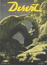 M A G A Z - Desert Magazine of the Southwest