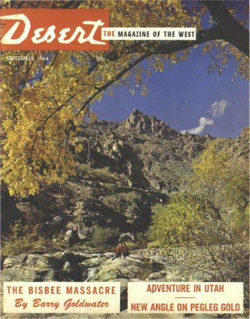 FREE!! - Desert Magazine of the Southwest