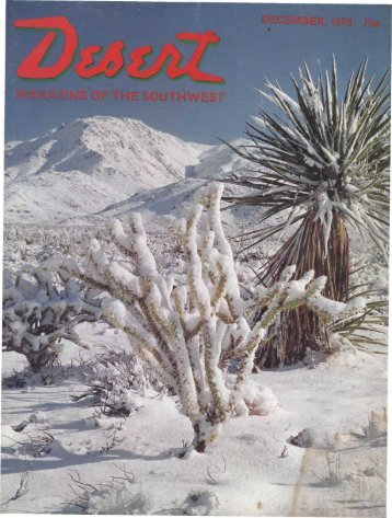 1 - Desert Magazine of the Southwest