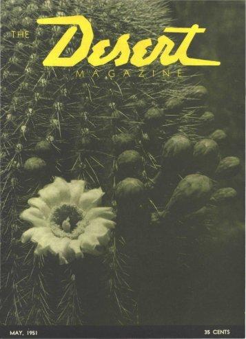 195105-DesertMagazin.. - Desert Magazine of the Southwest
