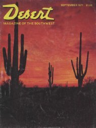 MAPS! - Desert Magazine of the Southwest