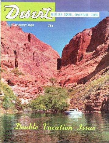 Western travel/adventure/living - Desert Magazine of the Southwest