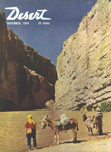 furnace creek inn - Desert Magazine of the Southwest
