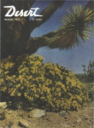 our free catalog no. 542 is the - Desert Magazine of the Southwest