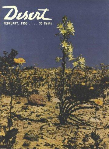 Sensationally new free 56 page fall catalog - Desert Magazine of the ...