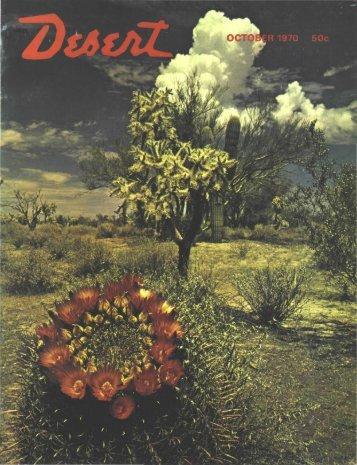 R 197Q 50c - Desert Magazine of the Southwest