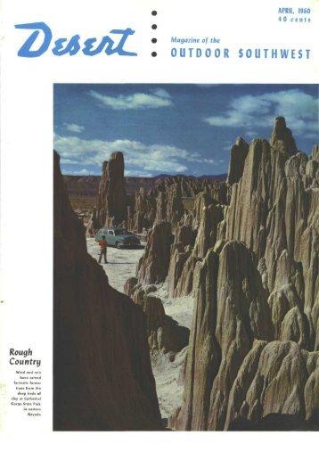 OUTDOOR SOUTHWEST - Desert Magazine of the Southwest