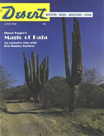 Manic of I «ii«i - Desert Magazine of the Southwest