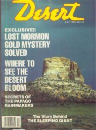 exclusive!! • old mystery solved here to seethe desert