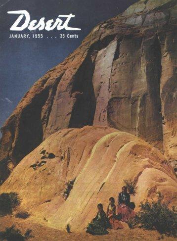 Travel guide - Desert Magazine of the Southwest