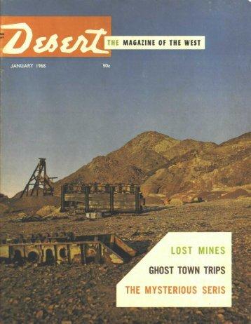 desert magazine's special attractions - Desert Magazine of the ...